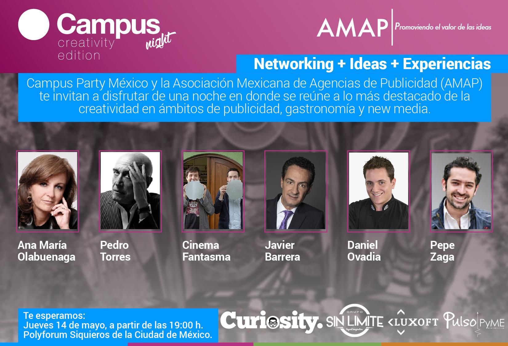 Campus Party y AMAP potencian el talento creativo mexicano.