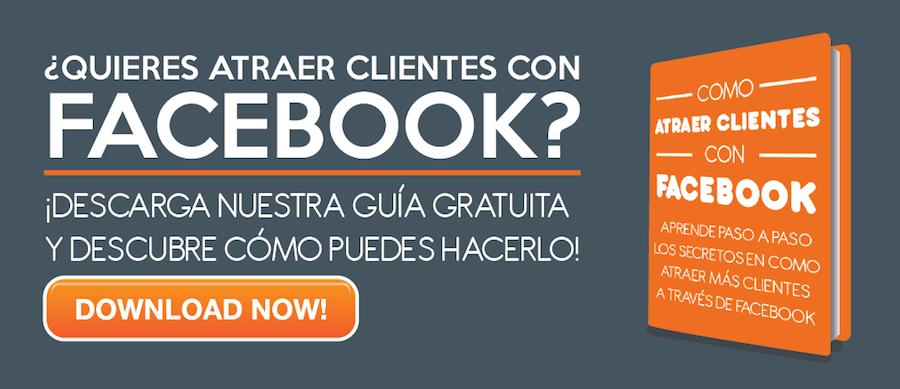 Guía para conseguir clientes con Facebook Black and Orange