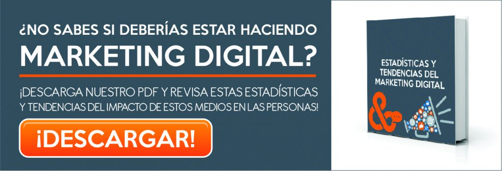 Estadísticas del Marketing Digital Black and Orange