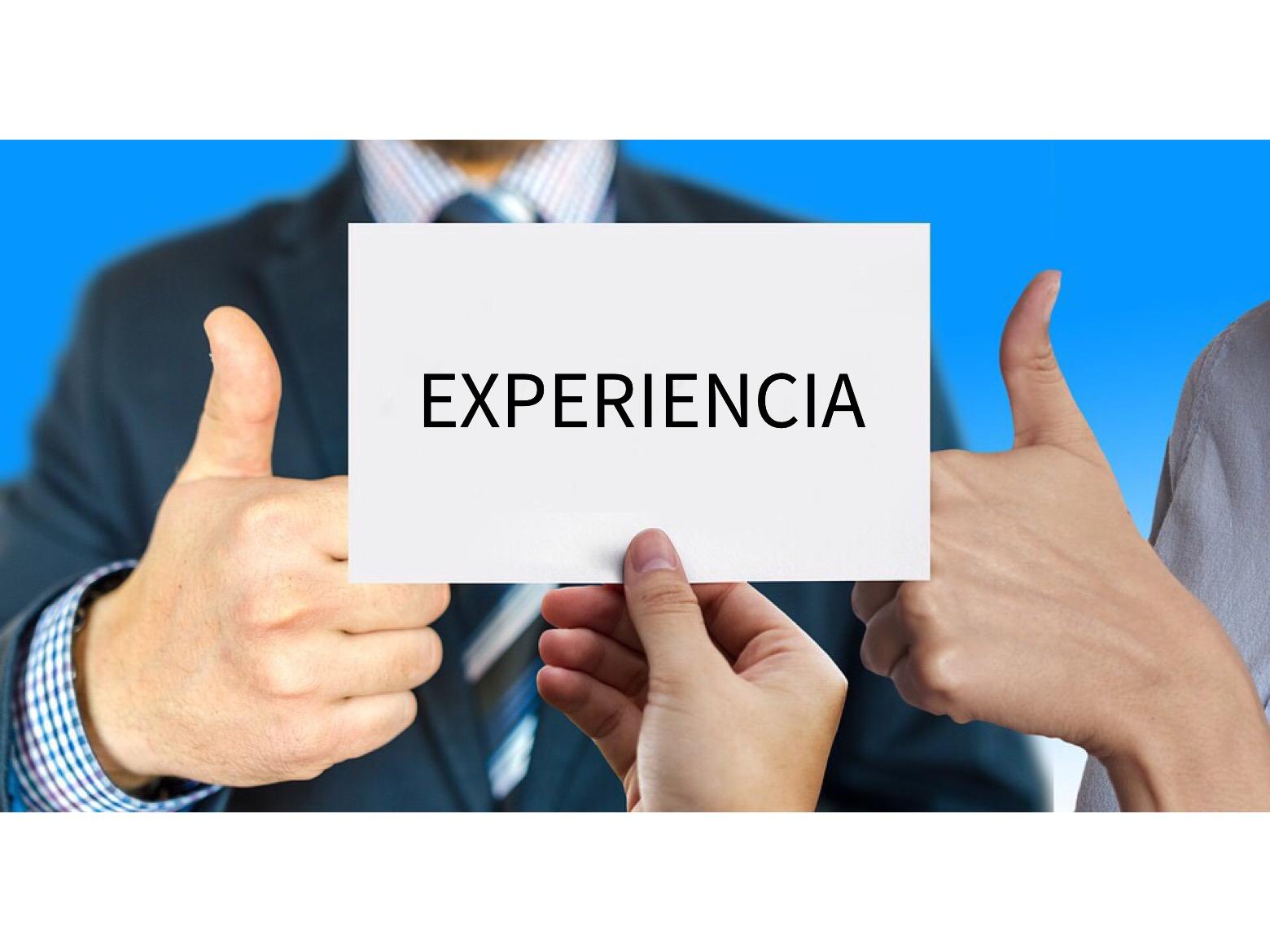 """""""La experiencia"""" una herramienta clave para el éxito empresarial"""