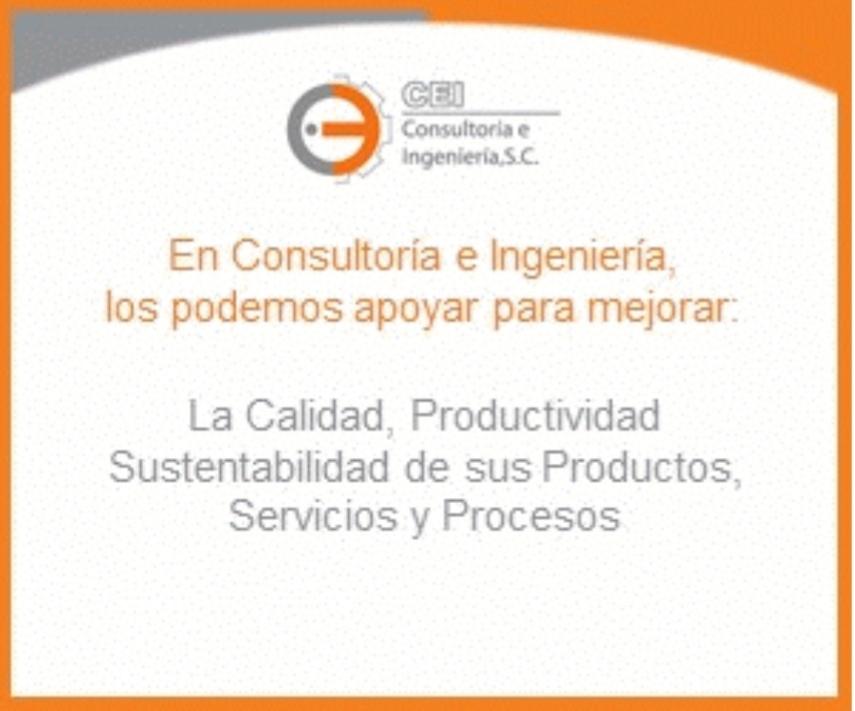 Consultoría e Ingeniería S.C.