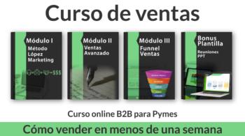 Curso Online B2B para PyMES