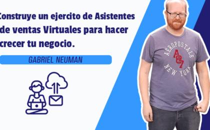 Construye un ejercito de Asistentes de ventas Virtuales para hacer crecer tu negocio.