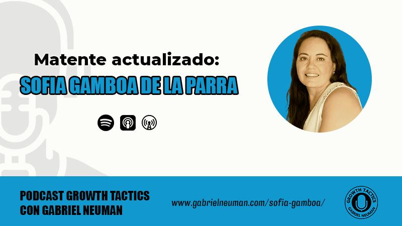 Sofía Gamboa de la Parra: Matente actualizado.