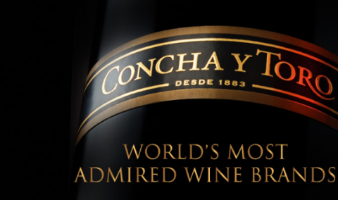 Concha y Toro nuevamente en World's Most Admired Wine Brands 2021