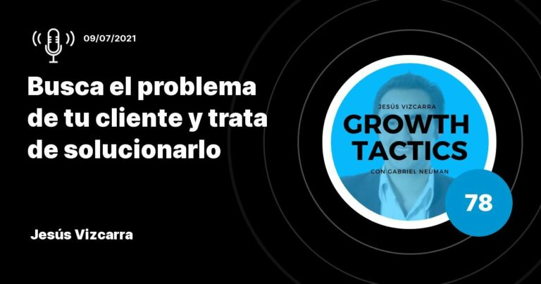 Busca el problema de tu cliente y trata de solucionarlo