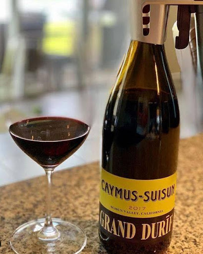 Caymus Suisun Grand Durif 2018, el sabor de California