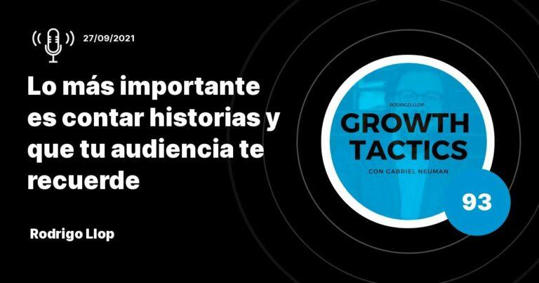 Rodrigo Llop: Lo más importante es contar historias y que tu audiencia te recuerde